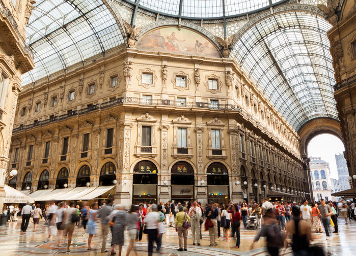 Shopping i Milano