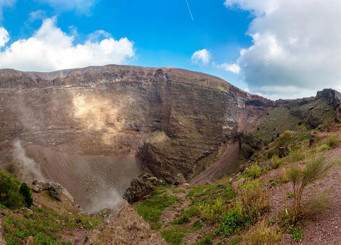Vesuvs krater