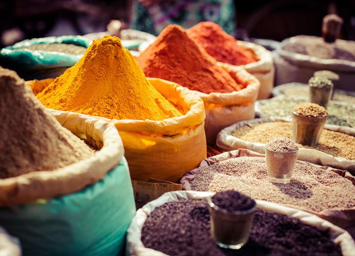 Krydderboder i Jaipur